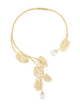 Leaf And Pear Necklace  - Ingie Paris