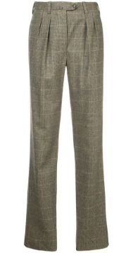 Classic Checked Trousers - Giuliva Heritage Collection