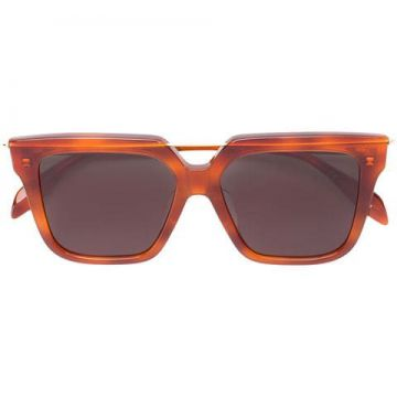 Oversized Shaped Sunglasses - Alexander Mcqueen Eyewear