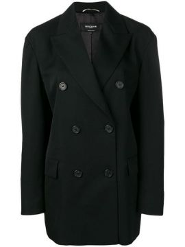 Loose-fit Double-breasted Blazer - Rochas