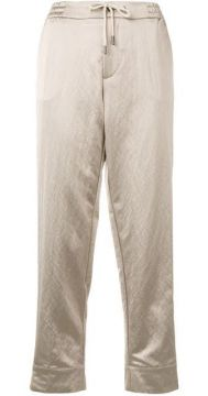 Straight Cropped Trousers - Berwich