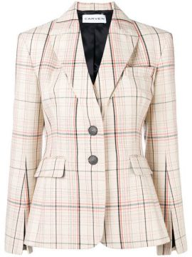 Checked Fitted Balzer - Carven