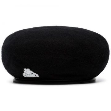 Charms Blk Kappa Beret Hat - Charms