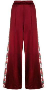 Floral Band Palazzo Trousers - Golden Goose Deluxe Brand