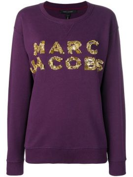 Logo Patch Sweatshirt - Marc Jacobs