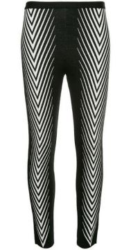 Legging Com Estampa Chevron  - Haider Ackermann