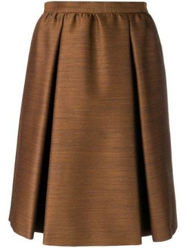 Pleated Skirt  - Bottega Veneta