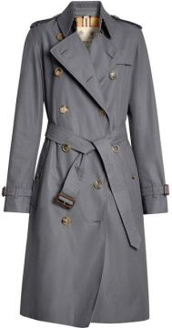 The Long Kensington Heritage Trench Coat - Burberry