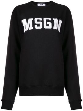 Logo Patch Sweater - Msgm