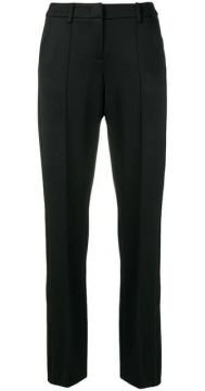 Creased Slim-fit Trousers - Cambio