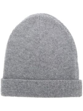 Cashmere Ribbed Beanie - Cashmere In Love