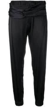 Twisted-front Joggers - Coup De Coeur