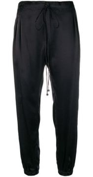 Satin-finish Joggers - Coup De Coeur