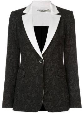 Macey Fitted Blazer - Alice+olivia