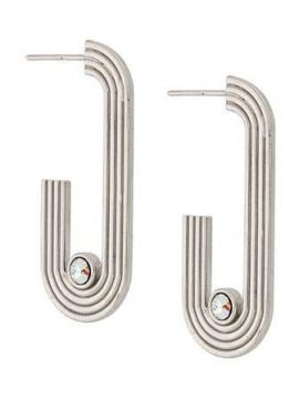 Pilot Hoop Earrings - Charlotte Valkeniers