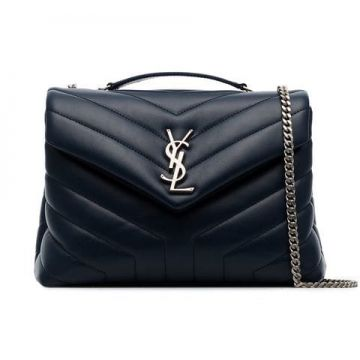 Loulou Small Quilted Leather Shoulder Bag - Saint Laurent