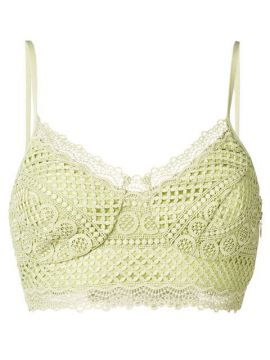 Lace Cropped Top - Charo Ruiz