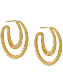 Initial Hoop Earrings - Charlotte Chesnais