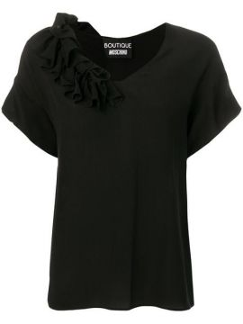Frilled Blouse - Boutique Moschino