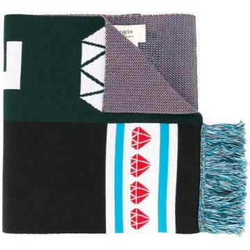 Patterned Scarf - Ports 1961