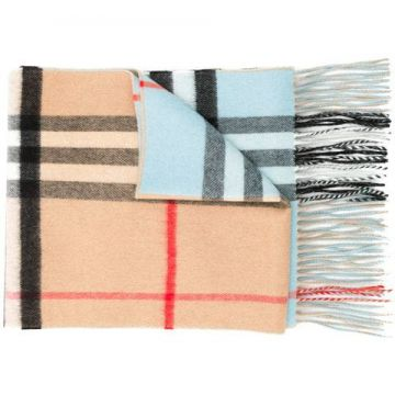 Double-faced Cashmere Scarf - Burberry