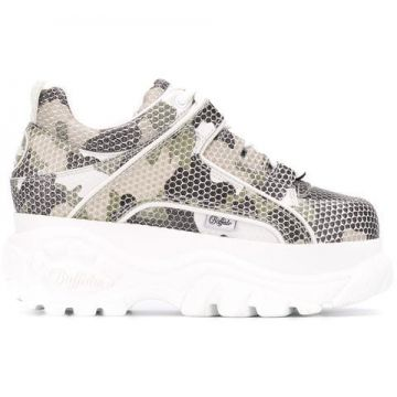 Camouflage Platform Sneakers - Buffalo