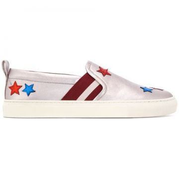 Star Patch Slip-on Sneakers - Bally