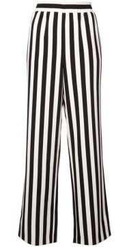 Striped High-waist Trousers - Alice+olivia