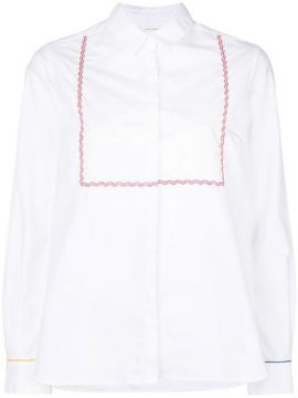 Embroidered Long-sleeve Shirt - Chinti & Parker