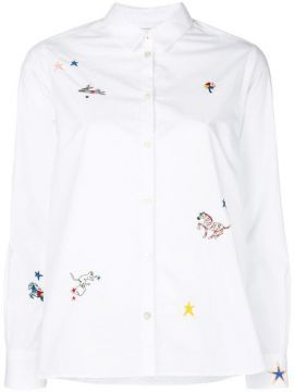 Embroidered Fitted Shirt - Chinti & Parker