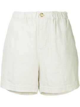 Washed Herringbone Holiday Short - Bassike