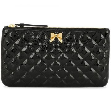 Quilted Clutch Bag - Moschino