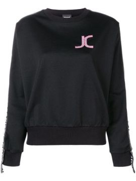 Logo Patch Sweatshirt - Just Cavalli