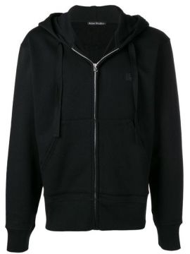 Ferris Zip Face Hooded Sweatshirt - Acne Studios