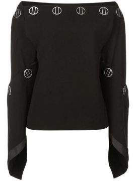 Spiral Sleeve Top - Dion Lee