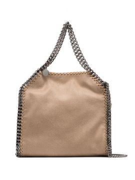 Beige Falabella Mini Tote Bag - Stella Mccartney