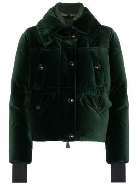 Loye High Neck Feather Down Puffer Jacket - Moncler Grenoble