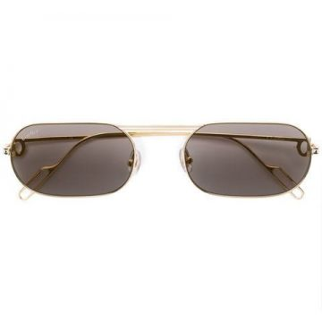 Square Tinted Sunglasses - Cartier