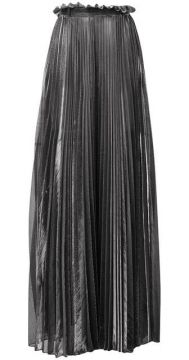 Pleated Maxi Skirt - Atu Body Couture