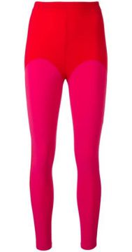 Colour-block Leggings - Atu Body Couture