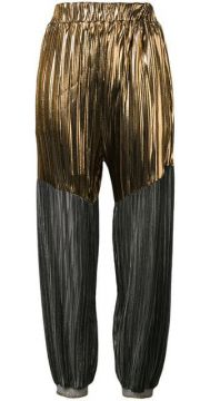 Pleated Tapered Trousers - Atu Body Couture