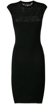 Fitted Midi Dress - Versace