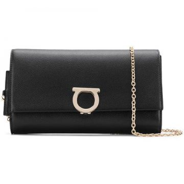 Logo Plaque Clutch - Salvatore Ferragamo