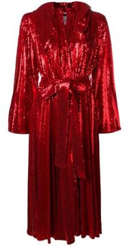Hooded Sequin Dress - Atu Body Couture