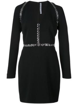 Fitted Eyelets Dress - Alexander Wang