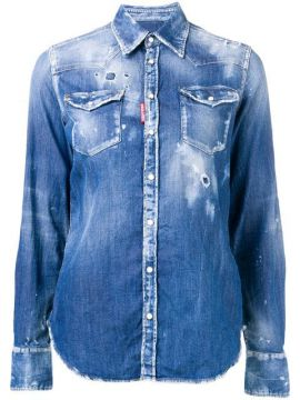 Camisa Jeans western - Dsquared2