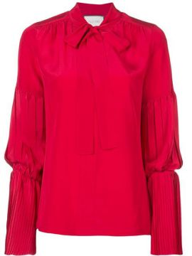 Pleat Detail Blouse - Alexis