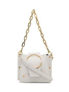 White Delila Leather Cross Body Bag - Yuzefi