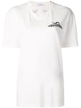 White Tarius Short Sleeved T-shirt - Givenchy