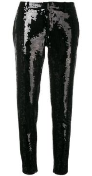Embellished Slim-fit Trousers - Saint Laurent